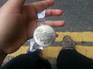 This Fat Girl Runs 10k Medal